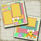 EASTER QUACKS 2 Premade Scrapbook Pages EZ Layout 997