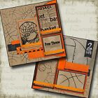 BASKETBALL 2 Premade Scrapbook Pages EZ Layout 2