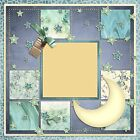 GOODNIGHT MOON 2 Premade Scrapbook Pages EZ Layout 292
