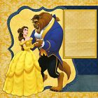 DISNEY BEAUTY  THE BEAST 2 Premade Scrapbook Pages EZ Layout 955