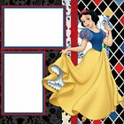DISNEY SNOW WHITE 2 Premade Scrapbook Pages EZ Layout 481