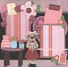 SWEET TREATS 2 Premade Scrapbook Pages EZ Layout 408