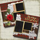 CHRISTMAS NOEL 2 Premade Scrapbook Pages EZ Layout 640