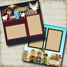 NATIVITY CHRISTMAS 2 Premade Scrapbook Pages EZ Layout 436