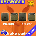 FRONT REAR Brake Pads DAELIM NS 125 DLX III Trans Eagle 2003 2004 2005 2006 2007