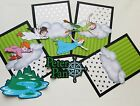 Disney Peter Pan scrapbook page completion set photo mats and die cut set