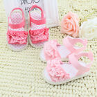 Baby Infant Kid Girl Summer Soft Sole Crib Shoes Toddler Casual Flower Sandals