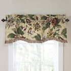 Waverly Laurel Springs Lined Window Valance,50-Inch Wide x 15-Inch Long 127 cm