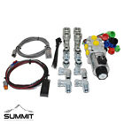 Electric Hydraulic Selector Diverter Valve Kit w Switch  Couplers 30 GPM