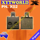 FRONT Brake Pads for GILERA RX 200 Arizona Enduro 1985