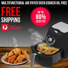 Multifunctional  Air Fryer Oven Cooker Oil Free Low Fat and Healthy 3.4 L Black