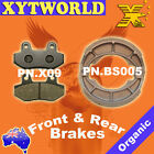 FRONT REAR Brake Pads Shoes for HYOSUNG RX 125 D Karion 2007 2008 2009 2010 2011