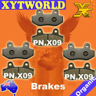 FRONT REAR Brake Pads for HYOSUNG Comet GT 650 Naked 2007 2008