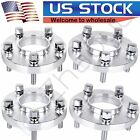 4 20mm Wheel Spacers 5x112 Hubcentric 12x15 Studs Adapters For Mercedes Benz