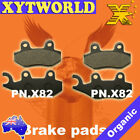 FRONT REAR Brake Pads for KYMCO Spike 125 R 2004 2005 2006