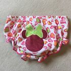 Baby Girl Glitter Minnie Mouse Bloomer Diaper Cover Sz 0 3 Months Pink Disney