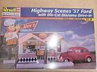 Revell Monogram 37 Ford with  Die Cut Diorama