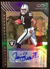 2016 Infinity #EA-TB Tim Brown Autograph Exalted Infinite Gold 7 8 Raiders HOF