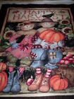 SALE !! 1 panel HARVEST COUPLE by Susan Winget for Springs  Cotton