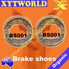 FRONT REAR Brake Shoes PEUGEOT Ludix One 50cc 2004-2005 2008 2009 2010 2011 2012
