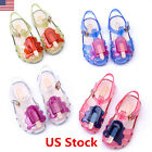 Baby Girls Toddler Shoes Ice Cream Cute Sandals Jelly Shoe Children Summer Shoes