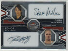 2013 UFC Topps Finest Fighters RONDA ROUSEY SARA MCMANN Dual Auto card #18 25