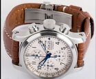 Fortis B-42 Chronograph - 635.10.141.1 - Automatic - White / Silver Dial