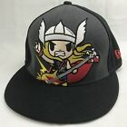 Tokidoki Marvel Cap Hat New Era 59Fifty Rock Chibi Thor Bass Guitar Fitted 7 1 8