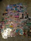 NEW LOT of 100 Assorted STICKER SHEETS  Embellishment Packs across Many Themes