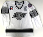 WAYNE GRETZKY AUTHENTIC CCM ULTRAFIL LOS ANGELES KINGS 1991 NHL 75TH JERSEY 48