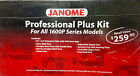 Janome 1600P Professional Plus Kit for all 1600P Series Models