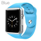 A1 Smart Bluetooth Watch Phone Mate Blue SIM camera SD for Android iOS Samsung