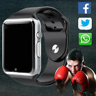 Black A1 Bluetooth Smart Watch GSM SIM for iPhone Samsung Android Phone Mate US