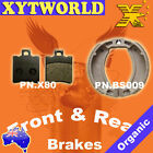FRONT REAR Brake Pads Shoes for PGO My Bubu 50 2003