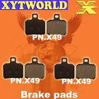 FRONT REAR Brake Pads PIAGGIO Beverly B 500 2002 2003 2004 2005