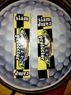 NO GOOD GOFERS PINBALL 2 Pc SLAM RAMP PROTECTOR Cushioned Decal Set