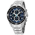 Citizen Super Titanium Blue Dial Stainless Steel Men's Watch CA034951L