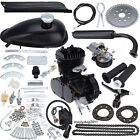 Black 50cc 2 Stroke Cycle Motor Kit Motorized Bike Petrol Gas Bicycle Engine