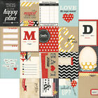 Say Cheese Double Sided Elements Cardstock Journaling Cards 12X12 3X4