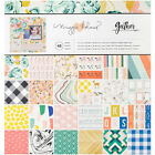 American Crafts Maggie Holmes Gather 12 X 12 Inches Patterned Paper Pad