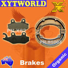 FRONT REAR Brake Pads Shoes for SYM XS 125 K 2007-2010 2011 2012 2013 2014 2015