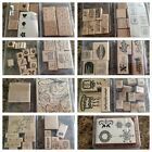 Huge 91 Piece Stampin Up Lot Rubber Stamps Scrapbooking GREAT CONDITION