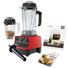 Vitamix 5200 Blender Super Package Professional Commercial Powerful Juicer Red