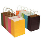 10 Colors Paper Bag Wedding Birthday Party Gift Bags With Handles Shop Bag