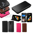 For LG Stylo 3 Plus Leather Flip Wallet Case Cover Protective Card Pouch Stand