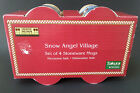 Debbie Mumm Snow Angel Village Four Mug Set New In Box Sakura by Oneida Christma