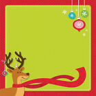 Darice Easy Page Layout w 3D Design Kids Christmas Design 12 x 12 1 Each