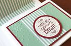 Stampin Up Softly Falling Textured Impressions Embossing Folder  New