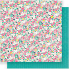 American Craft Crate Paper Cute Girl Collection 12 X 12 Double Sided Paper Fancy