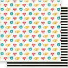 American Craft Crate Paper Cool Kid Collection 12 X 12 Double Sided Paper Buddy